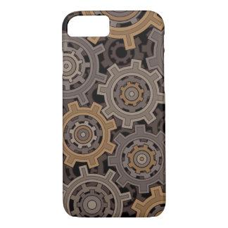 Engranajes industriales del estilo de Steampunk Funda iPhone 7