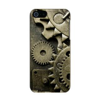 Engranajes mecánicos antiguos de hombres carcasa de iphone 5 incipio feather shine