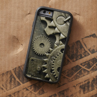 Engranajes mecánicos antiguos de hombres funda tough xtreme iPhone 6