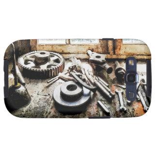 Engranajes y llaves en tienda de máquina galaxy s3 funda