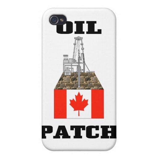 Engrase el remiendo Canadá, caso del iphone, regal iPhone 4/4S Carcasas