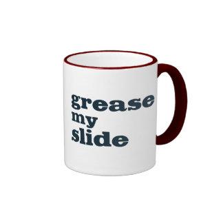 Engrase mi diapositiva (del trombone) taza de dos colores