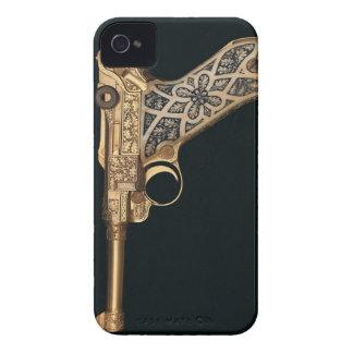 Engraved Antique Gun Collector Case-Mate iPhone 4 Case