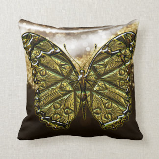 Engraved  Butterfly 2 Pillows Options