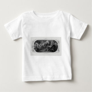 Engraved Declaration of Independence John Trumbull Baby T-Shirt