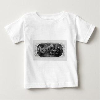 Engraved Declaration of Independence John Trumbull Infant T-shirt