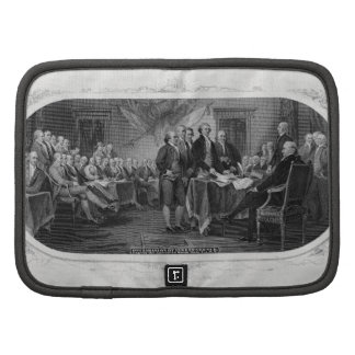 Engraved Declaration of Independence John Trumbull Folio Planner
