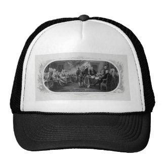 Engraved Declaration of Independence John Trumbull Trucker Hat