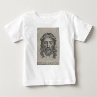 Engraved Face of Jesus Christ by Claude Mellan Baby T-Shirt