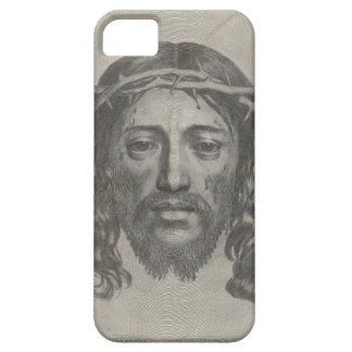 Engraved Face of Jesus Christ by Claude Mellan iPhone 5 Cases