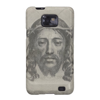 Engraved Face of Jesus Christ by Claude Mellan Samsung Galaxy S2 Case