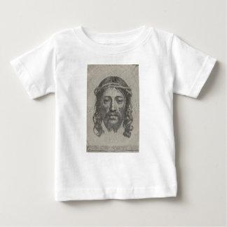 Engraved Face of Jesus Christ by Claude Mellan Infant T-shirt