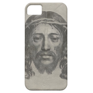 Engraved Face of Jesus Christ by Claude Mellan iPhone SE/5/5s Case