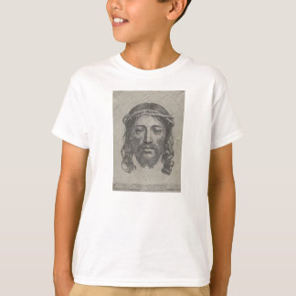 Engraved Face of Jesus Christ by Claude Mellan T-Shirt