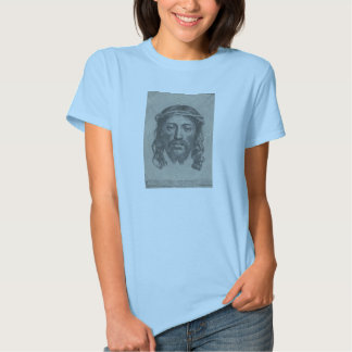 Engraved Face of Jesus Christ by Claude Mellan T Shirt