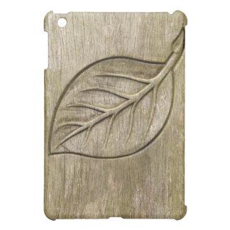 Engraved leaf iPad mini covers