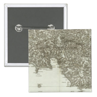 Engraved map of France 2 Pins