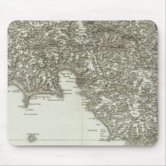 Engraved map of France 2 Mouse Pad