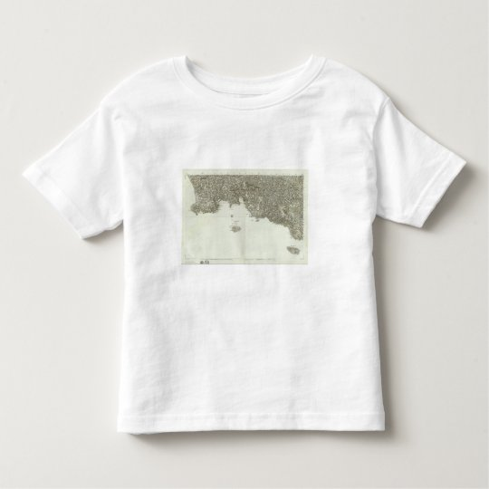 Engraved map of France 2 Toddler T-shirt