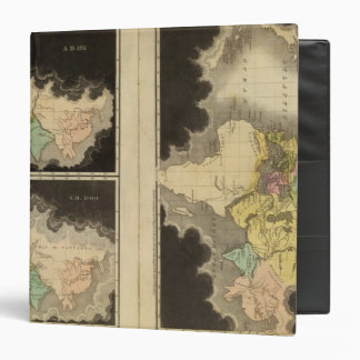 engraved maps of the world binder