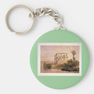 Engraved on stone by Louis Haghe Key Chains