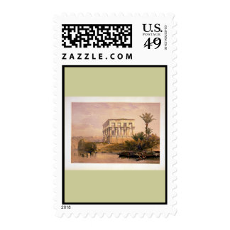 Engraved on stone by Louis Haghe Postage Stamp