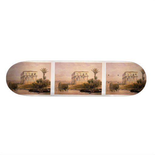 Engraved on stone by Louis Haghe Skate Board Deck