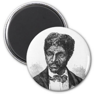 Engraved Portrait of African American Dred Scott Magnet