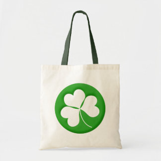 Engraved Shamrock Bag