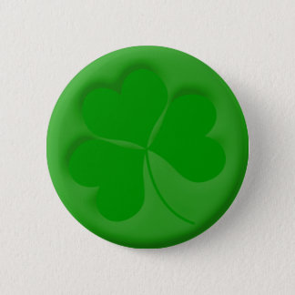 Engraved Shamrock Button