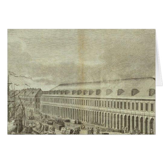 Engraved View of Saint Petersburg 2 Card