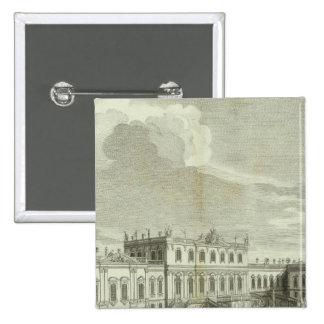 Engraved View of Saint Petersburg 3 Pinback Button