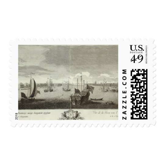 Engraved View of Saint Petersburg 3 Postage