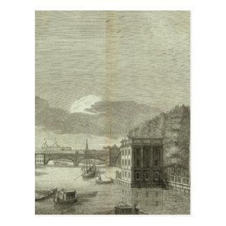 Engraved View of Saint Petersburg Postcard