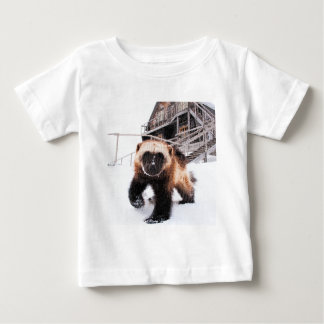 Engraved Wolverine Baby T-Shirt