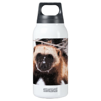Engraved Wolverine Insulated Water Bottle