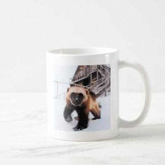 Engraved Wolverine Classic White Coffee Mug