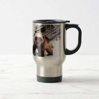 Engraved Wolverine 15 Oz Stainless Steel Travel Mug