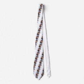 Engraved Wolverine Neck Tie