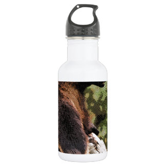 Engraved Wolverine Stainless Steel Water Bottle