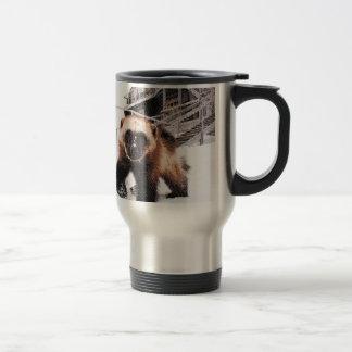 Engraved Wolverine Travel Mug