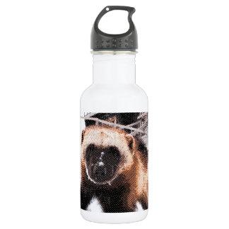Engraved Wolverine Water Bottle