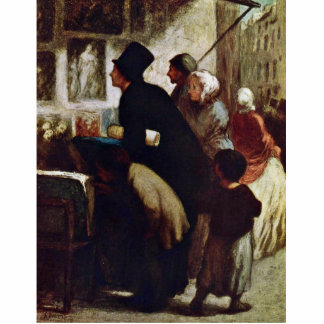 Engraving Dealers By Daumier Honoré Cut Outs