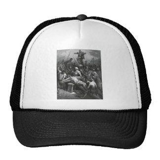 Engraving Jesus Crucifixion 1866 by Gustave Dore Trucker Hat