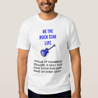 ENGRISH: be the rock star life! Shirts