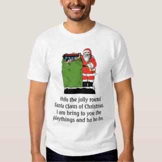 ENGRISH Santa #2 Playera