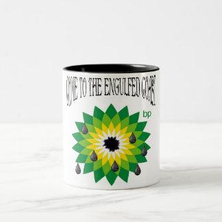 Engulfed Coast Two-Tone Coffee Mug