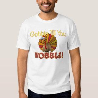 ¡Engulla hasta que usted se tambalea! Camisas