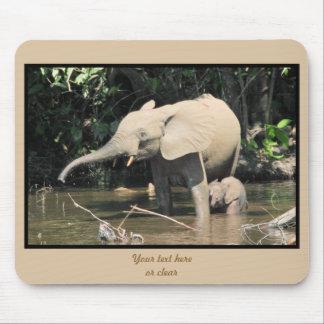 (enhanced) African forest elephants, Congo Mousepads