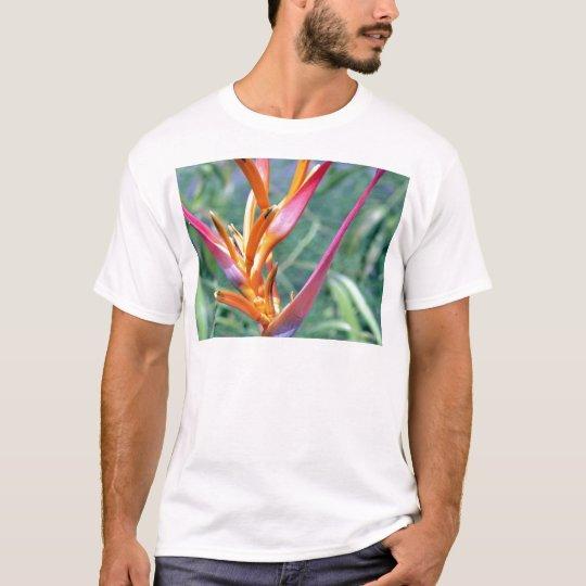 Enhanced Hawaiian Heliconia Flower T-Shirt